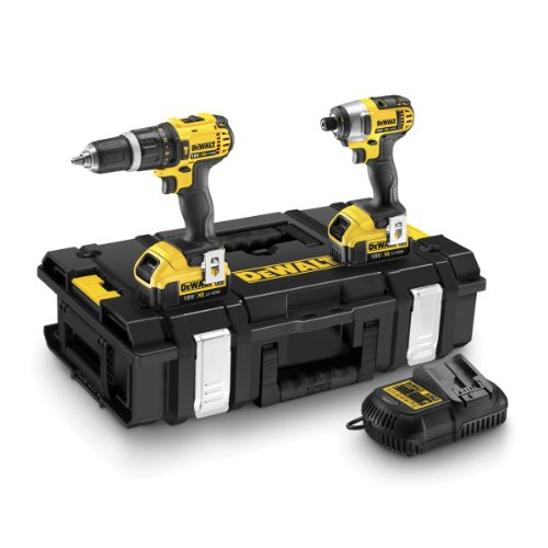 dewalt-18v-xr-lithium-ion-combi-drill-and-impact-driver-with-batteries-twin-pack
