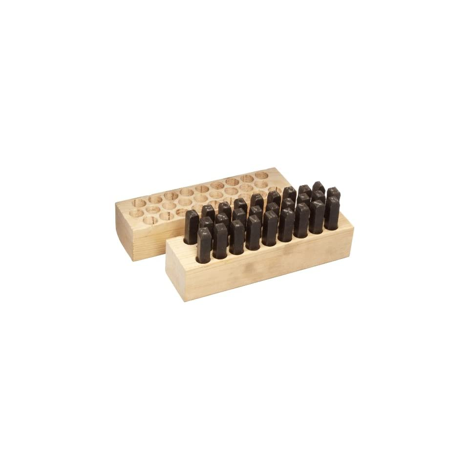 Young Bros 03274 27 Piece Reversed Stamp Letter Set 1//8 Character Size Steel