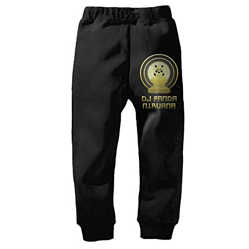 DMEIZI Speed Drawing DJ Panda Nirvana Logo Performance Sweatpants For Kids Black (Performance Drawing compare prices)
