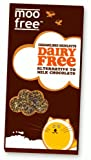 Moo Free Caramelised Hazelnuts Bars 100g Dairy Free Milk Chocolate