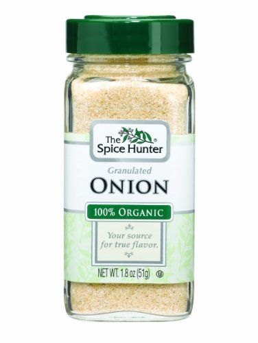 The Spice Hunter Onion, Granulated, Organic, 1.8-Ounce Jars (Pack of 6)