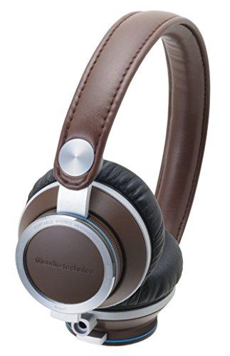Audio Technica Athre700 Bw On-Ear Headphones, Brown