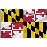Maryland 3'x5' Polyester Flag