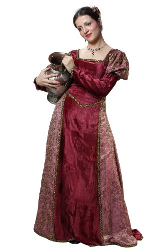 Armor Venue Women's Hildegard Princess Dress - Renaissance Gown Costume