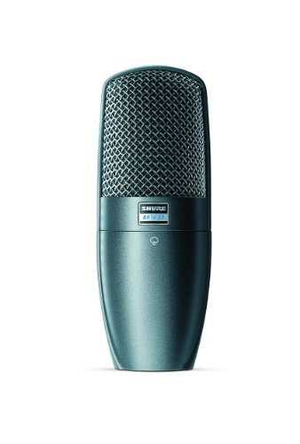 Shure Beta 27 Supercardioid Side-Address Condenser Microphone For Instrument And Vocal Applications
