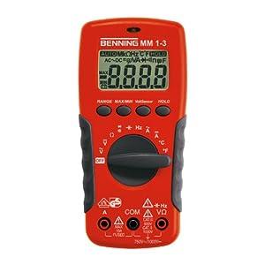 Benning Multimeter Digital MM13, 044083  BaumarktKundenbewertung und weitere Informationen