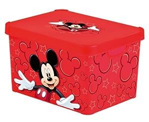 curver stockholm l mickey colours 206172 deco box. Black Bedroom Furniture Sets. Home Design Ideas