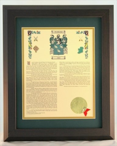 Townsend H003joyce Personalized Coat Of Arms Framed Print. Last Name - Joyce