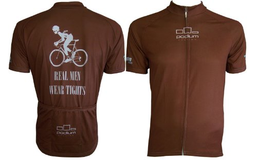 Buy Low Price Real Men Wear Tights Cycling Jersey (B005J6AZTG)