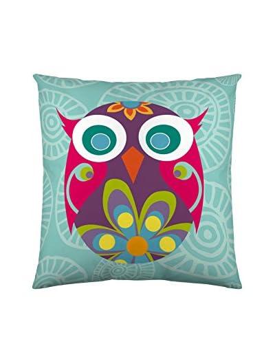 Valentina Funda De Cojín Multi Owls Multicolor