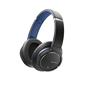 Sony MDR-ZX770BN/L Bluetooth Noise Canceling Headphones w/Microphone NFC- Blue