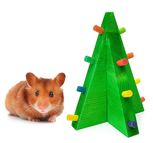 Christmas-Tree-Hamster-Chew-Toy-Hamster-Christmas-Toys