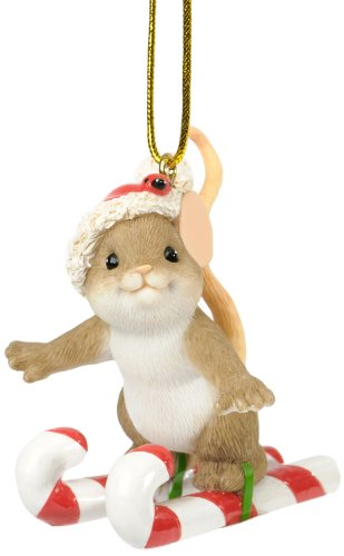 Enesco Charming Tails Your Sweetness is No Small Fee Ornament, 2.125-Inch