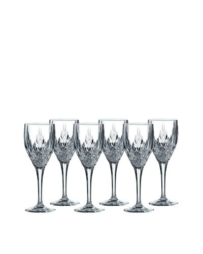 Royal Doulton Retro Wine Glasses, Set of 6, Clear