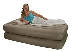 Amazon Inflatable Twin Size Raised Air Bed Mattress