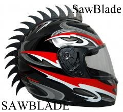Motorcycle Dirtbike ATV Snowmobile Helmets Helmet Warhawks Mohawks Mohawk (Helmet not Included) saw from SBI Inc.