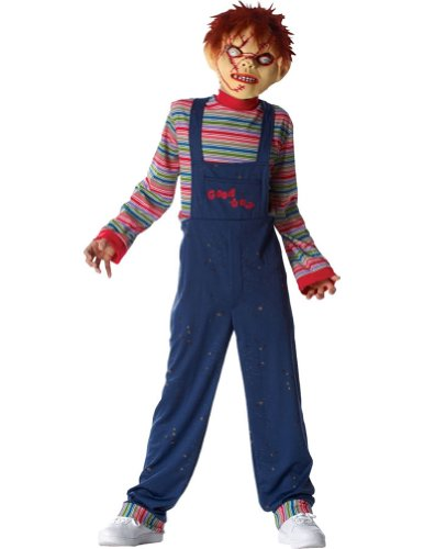 Kids-Costume Chucky Kids Costume Xlg Halloween Costume - Child Extra Large