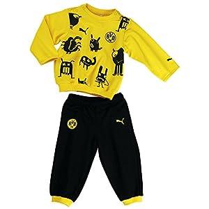 Puma Survêtement BVB Minicats pour bébé 92 Jaune/noir - Cyber Yellow-Black