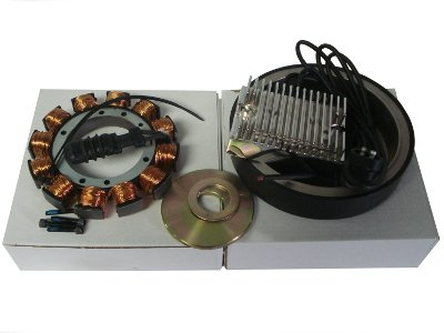 Kcint Alternator Charging Kit For 32 Amp With Rotor For S&S Evo Shovel 1970-99 Motors