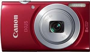 Canon IXUS 145 Digitalkamera (16 Megapixel, 8-fach opt. Zoom, 6,8 cm (2,6 Zoll) LCD-Display, HD-Ready) rot