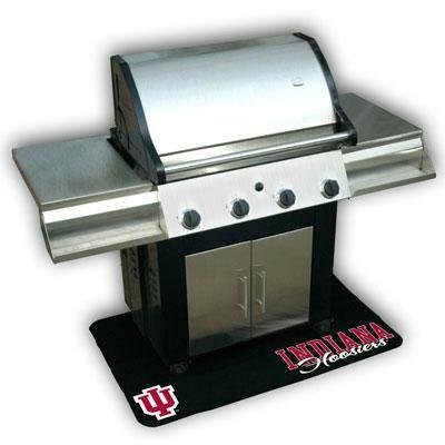 Mr. BBQ 151693 Indiana Hoosiers Protective Grill Mat