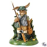Royal Doulton Bunnykins 2013 Hobbies Catch Of The Day Figurine