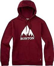 Burton Men's Classic Mountain Pullover Hoodie, Zinfandel, Medium