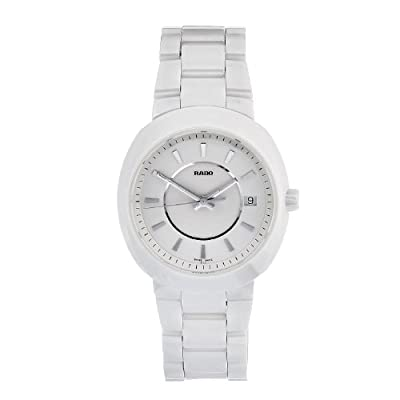 Rado Women's R15519102 Quartz White Dial Ceramic Watch by Rado