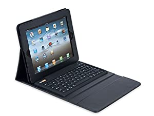Solid Line RightShift Bluetooth Keyboard & Case for iPad 2 & iPad 3 or Any Blue Tooth Enabled Device - Black