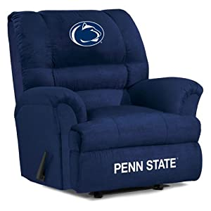 NCAA Penn State Nittany Lions Big Daddy Microfiber Recliner by Imperial