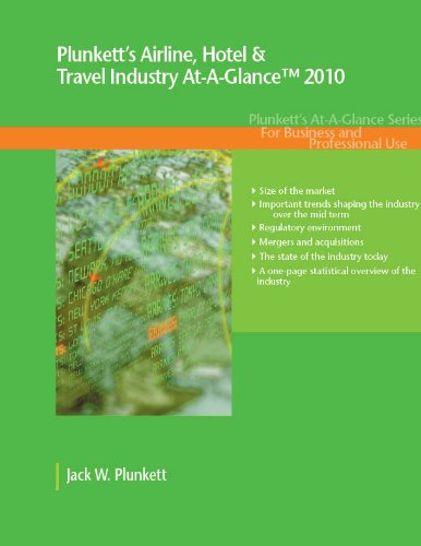 Plunkett's Airline, Hotel & Travel Industry Trends and Statistics Brief  2010 (Business Brief & Market Research Series)