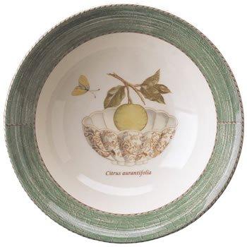 """Wedgwood Sarah's Garden Cereal Bowl 7"""" Green (Set of 4)"""