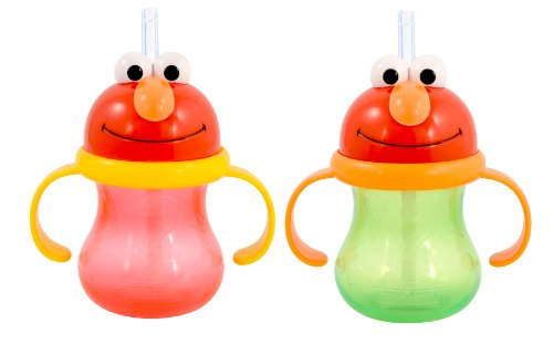 Munchkin 2 Count Character Cup, Sesame Street, 8 Ounce
