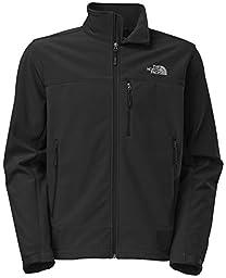 The North Face 611C757 Apex Bionic Jacket for Men, TNF Black & TNF Black - 3XL