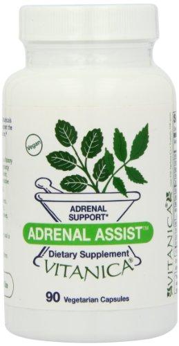 Vitanica Adrenal Assist Capsules, 90-Count