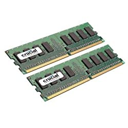 Crucial CT2KIT12864AA667 2GB 667MHz Kit DDR2 (CT2KIT12864AA667)
