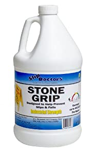 Stone Grip - Slippery Pool Deck and Non-slip Tile Treatment Gallon