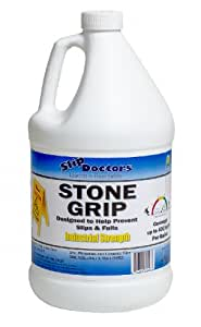 Stone Grip - Slippery Pool Deck and Non-slip Tile Treatment Gallon