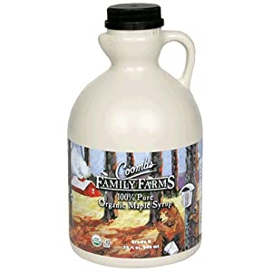 Coombs Family Farms Maple Syrup, Premium Grade B, 32-Ounce Jugs