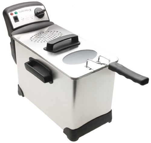 Euro-Pro F1063 5-Liter Stainless Deep Fryer