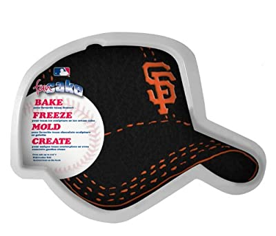 MLB San Francisco Giants Fan Cakes Heat Resistant CPET Plastic Cake Pan