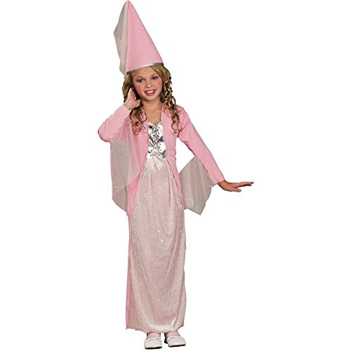 Pink Princess Costume with Hat - Large