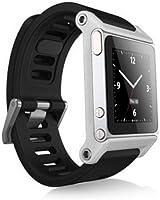 Alienwork Pod2Watch bracelet de montre pour iPod Nano 6 bracelet de montre Aluminium argent AN604A-02