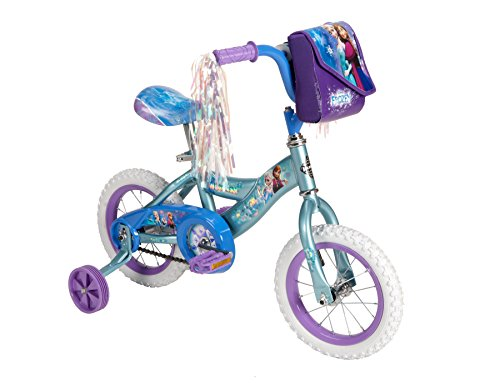 Huffy Bicycle Company Number 22235 Disney Frozen Bike, Frosty Teal Blue, 12-Inch 0