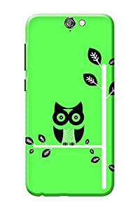 HTC One A9 Cover Kanvas Cases Premium Quality Designer 3D Printed Lightweight Slim Matte Finish Hard Back Case for HTC One A9