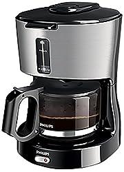 Philips Junior HD7450/00 650-Watt Coffee Maker (Black/Silver)