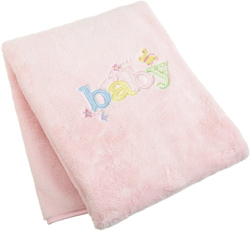 Carters Sweet Baby Blanket, Pink (Discontinued by Manufacturer)