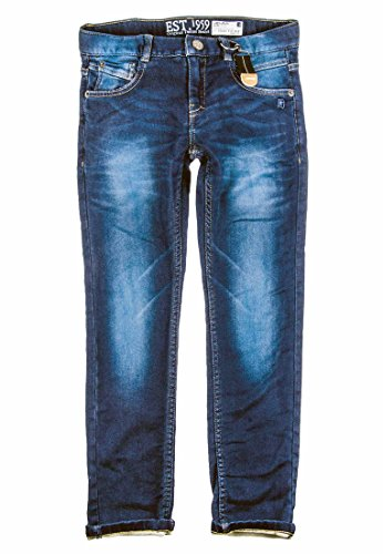 Lemmi Jungen Jeans Hose Boys Regular slim, Gr. 176, Blau (dark blue denim|blue 0012)