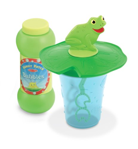 Melissa & Doug Sunny Patch Froggy Mini Bubble Cup - 1