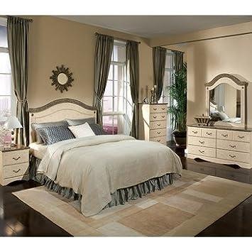 Standard Furniture Florence 4 Piece Panel Headboard Bedroom Set